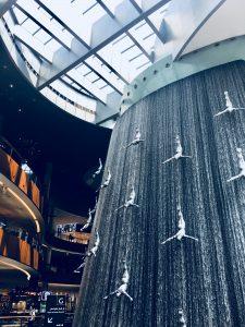 Cascada en Dubai Mall