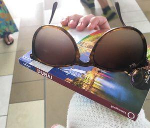 Hasta las gafas se empañan con el calor abrasador...