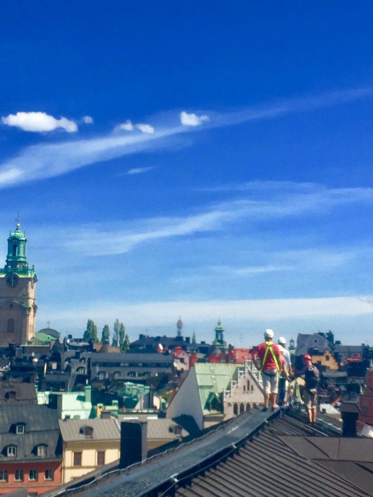 Estocolmo desde los tejados