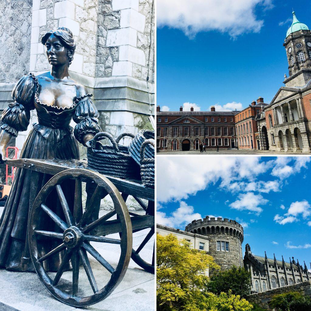 Molly Malone, castillo de Dublín