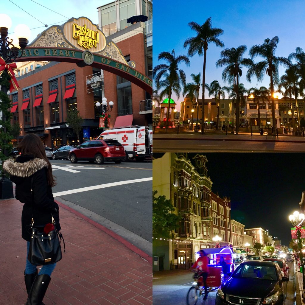 Distrito financiero y centro histórico de San Diego