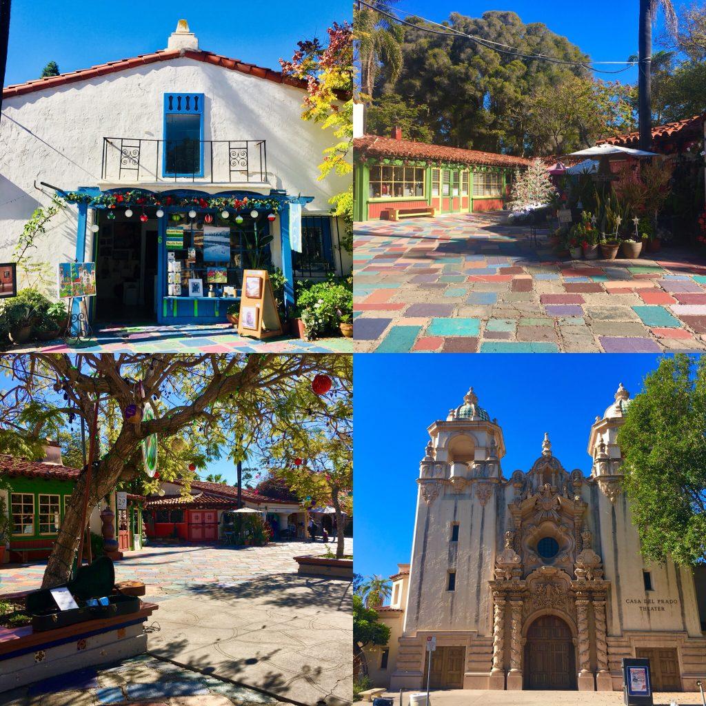 Spanish Village, Parque Balboa, San Diego, California
