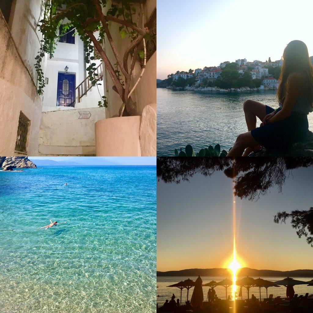 Skiathos, Islas Esporadas, Grecia